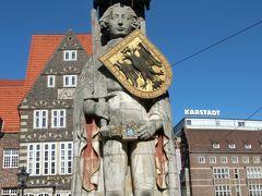 2014年晩夏のドイツ旅行15:ローラントが守る町ブレーメン。
