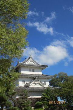 現存する木造天守十二城のひとつ丸亀城