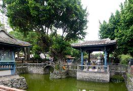 2014.8台湾出張旅行7-板橋林家花園(林本源園邸)のすばらしい中国庭園