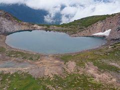 乗鞍登山でハートの形の池を発見&マイチャリで山を下る。