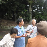 竹取物語に関係した大和と山城の古跡見学 .日本古文化研など3団体が博物館を訪問