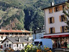 お天気に恵まれた秋のスイス周遊10日間(モンブラン観光とモンタンベール展望台))