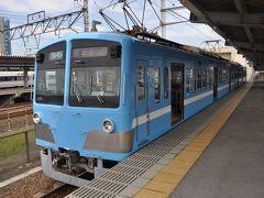 2014年10月近江鉄道の旅2(米原駅から多賀大社前駅へ)