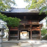 市川弘法寺から歩いて手児奈霊神堂・亀井院へ