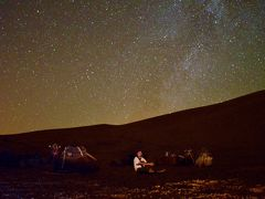 マシュリクからマグレブへ Part 8 - 砂漠で眺める満天の星空