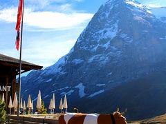 お天気に恵まれた秋のスイス周遊10日間(メンリッヒェンからクライネシャイデックまでハイキング)
