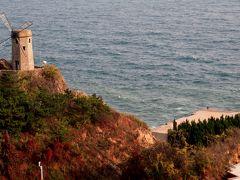 2014秋、中国旅行記24(2):10月15日(2):大連、北大橋、老虎灘公園、虎の群像モニュメント