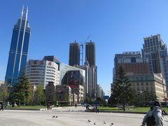 2014秋、中国旅行記24(5):10月16日(1):大連、早朝散策、中山広場