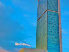 ホテル日航新潟 29階海側シングル室に宿泊 ☆朝食バイキングは盛り沢山