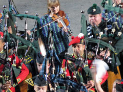 2014スコットランド 風と偉人を探しに エディンバラ・ミリタリー・タトゥー