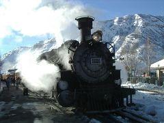 2008年 アメリカ南西部ドライブ(8 days) =Day 5= ~雪原を機関車で駆け抜ける!~