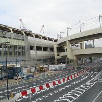 再開発が進む京急蒲田駅周辺(2014年10月26日)