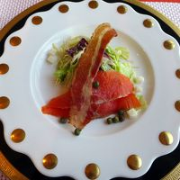 02.夏休みのエクシブ伊豆1泊 南欧料理 ラペールの夕食 満足できたローエンドのコース料理