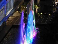 初秋の神戸 優雅なホテルスティ♪ Vol10(第2日目夜) ☆「La Suite Kobe」のジュニアスイートルーム「プレミアガーデン」から美しい噴水ショー♪