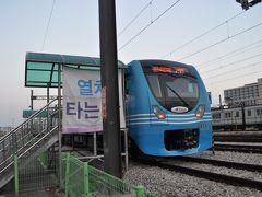 2014年10月関東鉄道旅行+韓国6(龍遊臨時駅)