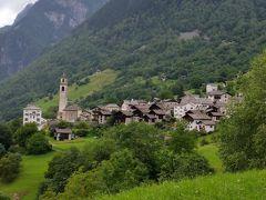 2014年7月スイス-3 魅力的な村ソーリオとブレガリア谷サイクリング
