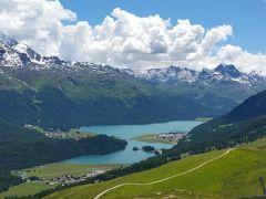 2014年7月スイス-4 サンモリッツでトロッティバイク&サイクリング