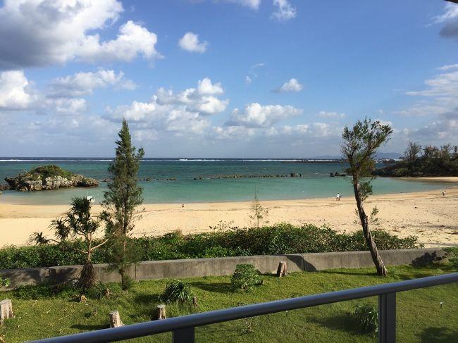 我が家の恒例行事となった沖縄旅行。<br />この秋も2泊3日で実行しました(^○^)
