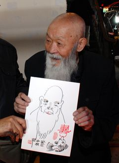 2013年中国新疆放浪記049・敦煌散策…その03・敦煌の夜は司馬義親父のカバブで♪