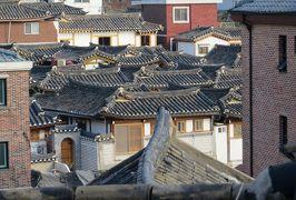 2014秋、韓国旅行記28(10):10月29日(9):ソウル、北村韓屋村、白象精舎、中央高校、北村八景