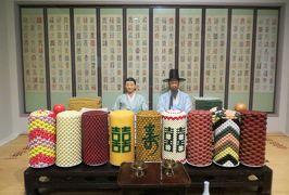 2014秋、韓国旅行記28(16):10月30日(5):ソウル、韓国国立民俗博物館、景福宮(キョンボックン)へ