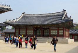 2014秋、韓国旅行記28(17):10月30日(6):ソウル、景福宮、欽敬閣、含元殿、思政殿、千秋殿、萬春殿
