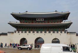2014秋、韓国旅行記28(19):10月30日(8):ソウル、景福宮、光化門、世宗大王像、マガジン展