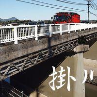 「東海道五拾三次」を歩く  二十七、掛川 〜 袋井
