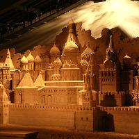 西日本一日乗り放題きっぷで列車に揺られて秋の竹田城跡から鳥取へ(その3、今年の鳥取「砂の美術館」のテーマはロシア!)