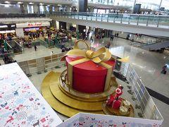 香港★香港空港はクリスマス準備中★