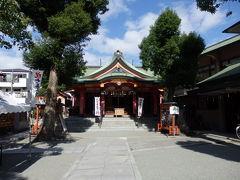 日本の旅 関西を歩く 大阪市の淀川、神津神社周辺