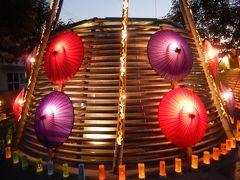 熊本・菊池公園散策・ほの宵まつり見物と菊池観光ホテル宿泊