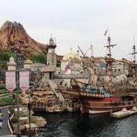 アナハイムのディズニーランドに行ったことがありますが日本のディズニーはディズニーシー初見参。