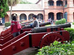 2014秋、台湾旅行記10(6):11月19日(4):淡水、紅毛城、古砲、イギリス領事館