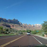2日目:ラスベガスからザイオン国立公園、アンテロープ、モニュメントバレー、グランドキャニオン、レンタカーの旅