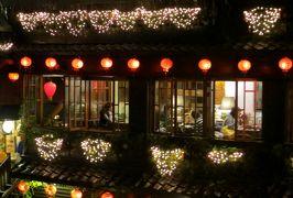 2014秋、台湾旅行記10(18):11月20日(10):九分、雨の九分旧市街散策、非情城市ロケ地の小上海茶飯館
