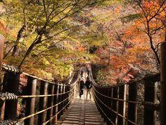 高萩 花貫渓谷の紅葉をもとめて…そして渋滞であきらめた袋田の滝(涙)いつかリベンジするぞ~!