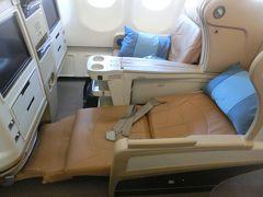シンガポール航空・ビジネスクラス搭乗記(往路編)