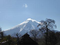 晩秋の伊豆と富士五湖の優雅な愛犬旅行♪ Vol6(第2日目昼) ☆忍野八海:冠雪の美しい富士山の風景と新蕎麦を愛でる♪