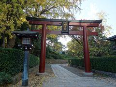 海外旅行の安全を根津神社で祈願。(神社の専門?はあっているかな。)
