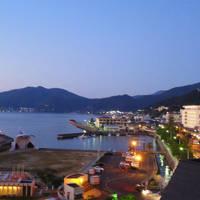 小浜温泉滞在記 旅館からの眺望あれこれ