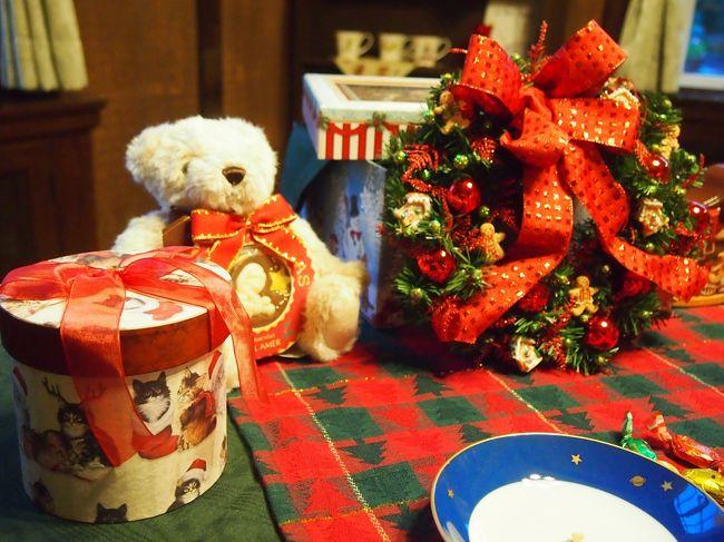 毎年12月の楽しみのひとつ、山手西洋館の世界のクリスマスに行ってきました。<br /><br />【開催日時】<br /> 2014年12月1日〜2014年12月25日<br /> 9:30〜17:00(20日〜24日は〜19:00)<br /><br />【各館テーマ】<br /> ブラフ18番館( シンガポール)<br /> 外交官の家 (アメリカ )<br /> 山手68番館 (フィンランド)<br /> エリスマン邸 (イタリア)<br /> ベーリック・ホール( スペイン)<br /> 山手234番館 (フランス)<br /> イギリス館 (イギリス)<br /> 山手111番館 (日本)<br /><br />http://www2.yamate-seiyoukan.org/event/event/2014kurisumasu11-10<br />