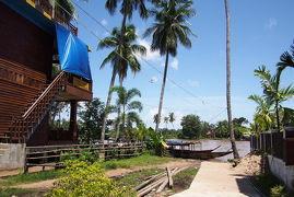 ■Don Khon(コーン島)の村の風景