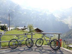 2011年7月スイス-3 ミューレンとクライネシャイデックでマウンテンバイクに初挑戦