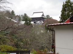 吉野山・小雪の中を吉野聖天~脳天大神をブラブラする。