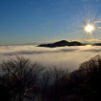 平凡な里山で見事な雲海出現! ~茂木の鎌倉山にて~