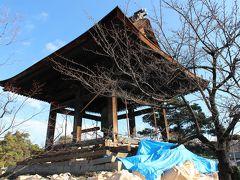 善光寺の地震被害
