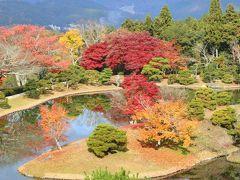 京都の御所と離宮(20) 修学院離宮の紅葉
