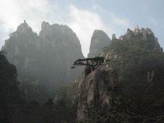初冬の中国⑥ 黄山後山を下山