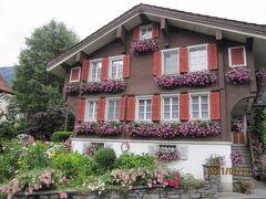 2011年7月スイス-5 雨でも楽しいハイキング クライネシャイデック → アルピグレン